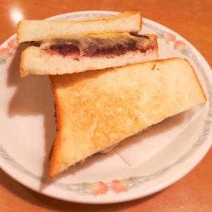 小倉チーズトースト