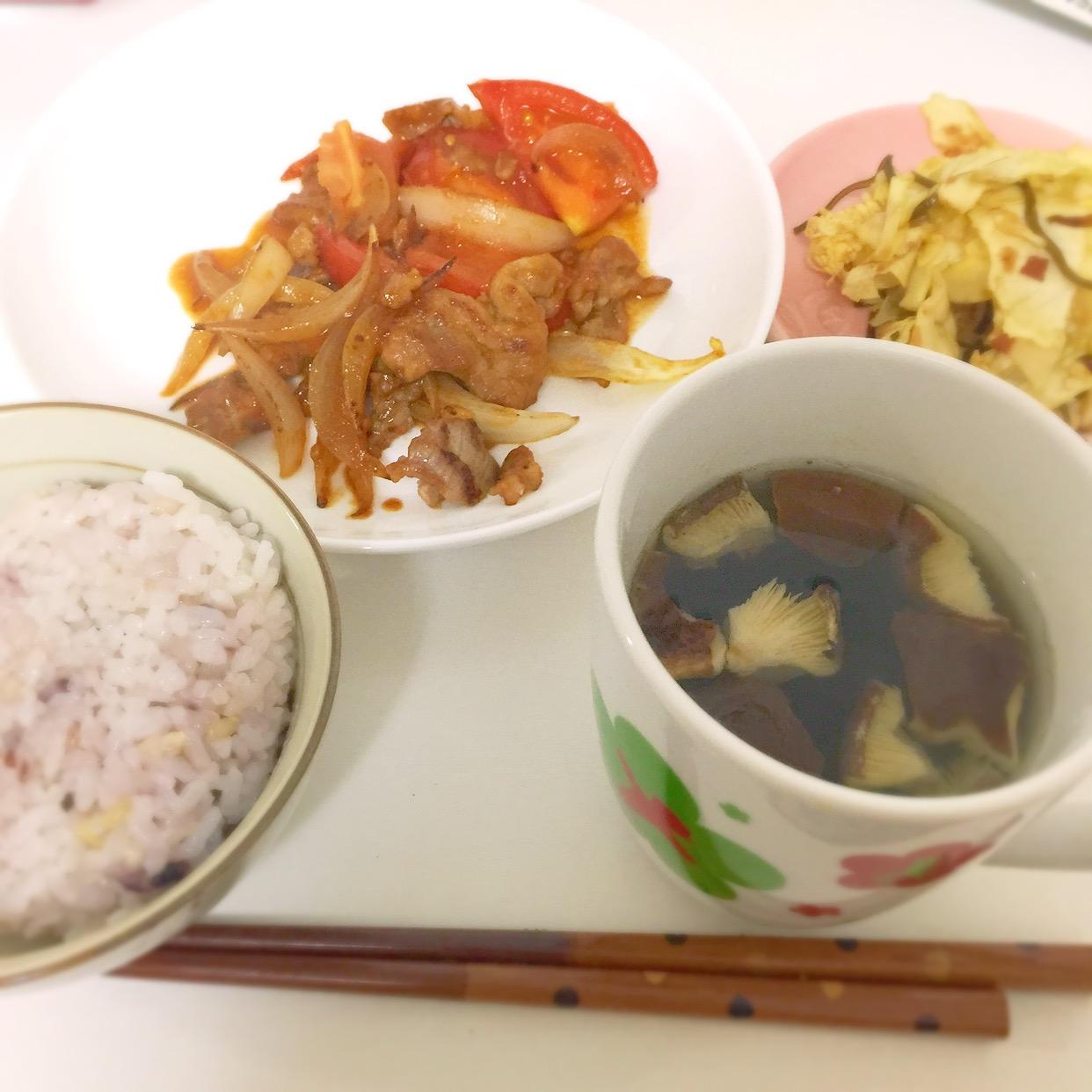 【レシピ】3分でできる!わかめと干し椎茸のスープ