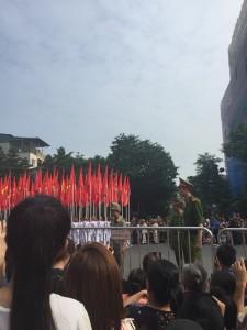 国慶節パレード1