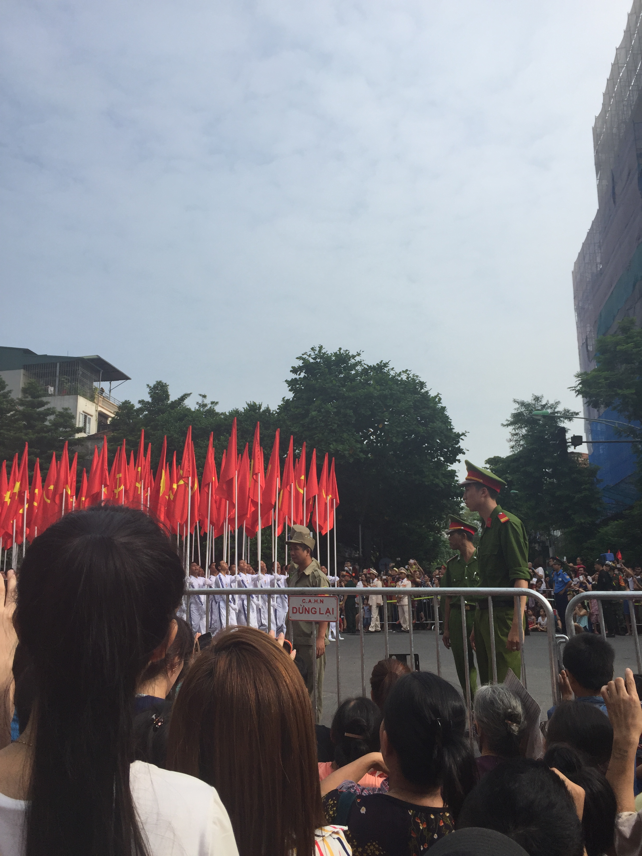 ベトナム建国記念パレード@ハノイ