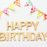 誕生日!27歳になりました。